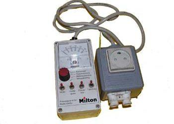 Olie-Rep. Kontrolkasser / Ankerboxe-REP:PRØVKASSE F/MECTRON +-40G2 (P531 SE) Winther Engros